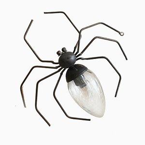 Applique Murale Spider Lucky Charm de Illuminazione Rossini, Italie, 1960s