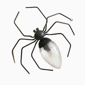 Italienische Glücksbringer Spider Wandlampe von Illuminazione Rossini, 1960er