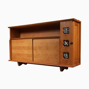 Sideboard by Guillerme et Chambron, 1950s