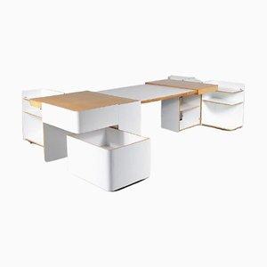 Extendable Desk by Roberto Pamio, Renato Toso & Noti Massari for Stilwood, 1970s