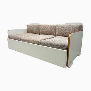 Art Deco Sofa, Böhmen, 1930er