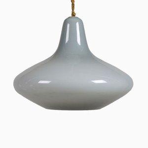 Lámpara de techo de vidrio de Holmegaard