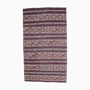 5x9 Vintage Turkish Oushak Handmade Wool Kilim Area Rug