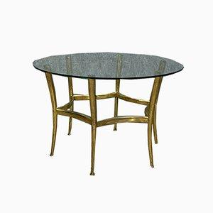 Italian Gilt Bronze Coffee Table, 1950s