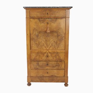 Louis Philippe Cherry Wood Chest of Drawers, 1850s