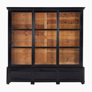 French Ebonised Bookcase, 1800s
