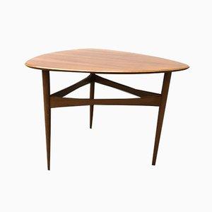 Mid-Century Tripod Coffee Table