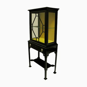 Antique English Chippendale Revival Cabinet