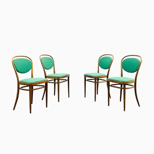 215 P Armchairs from Thonet, 1950s, Set of 4