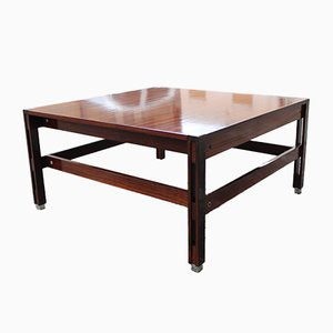 Square Rosewood Tivoli Coffee Table by Ico Parisi for MIM, 1959