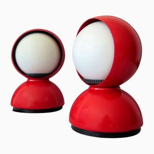 Eclisse Table Lamps by Vico Magistretti for Artemide, 1960s, Set of 2