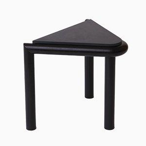 Mesa auxiliar o taburete Troika en negro de Vonnegut / Kraft