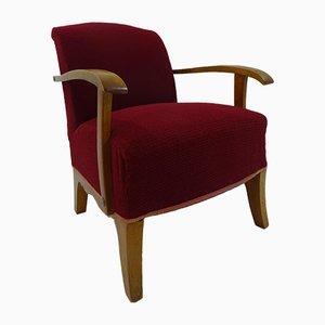 Art Deco Lounge Chair, 1920s