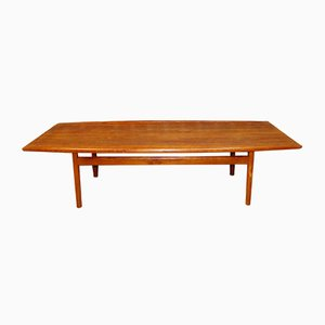 Teak Oiled Coffee Table by Grete Jalk for Poul Jeppesen, 1960s