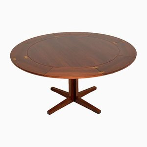 Danish Flip Flap Lotus Dining Table from Dyrlund, 1960s