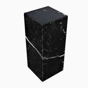 Italienischer Tisch aus schwarzem Marmor