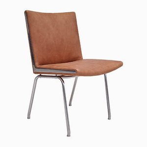 Danish Leather AP38 Armchair by Hans J. Wegner, 1960s