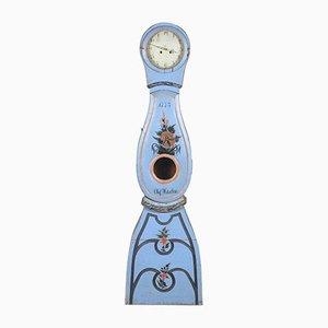 Antique Blue Mora Clock, 1773
