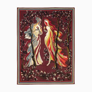 The Foolish Virgins Tapestry by Marc Saint Saëns