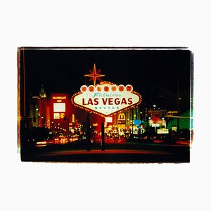 Arriving, Las Vegas, American Sign Color Photography, 2001