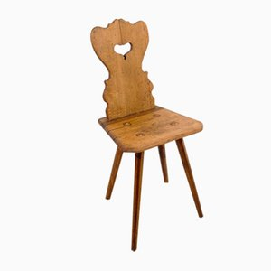 Antique Board Chair, 1860s