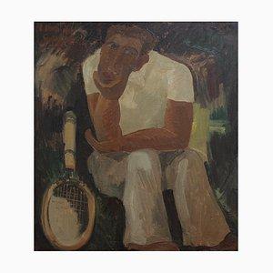 The Tennis Player par Louis Van De Spiegele, 1930s
