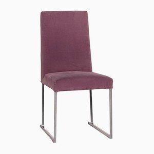 Velvet Lilac Chair from B&B Italia