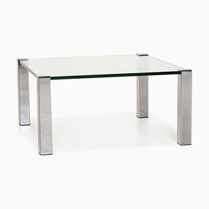 Glass and Metal Coffee Table from Draenert Socrates