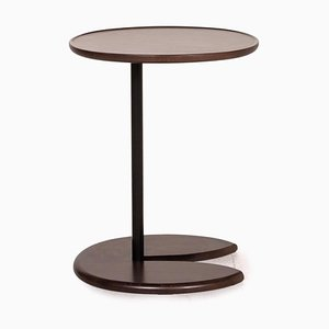 Dark Brown Wood Side Table from Stressless