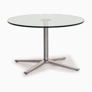 Table X-Table en Argent et en Verre par Walter Knoll