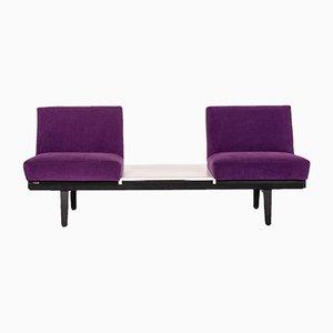 Purple Sofa by Herman Miller