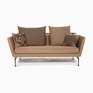 Suita Vitra Light Brown Sofa