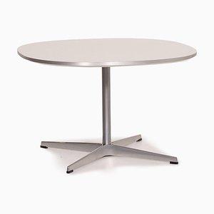 Table Basse Super Ellipse en Métal par Fritz Hansen
