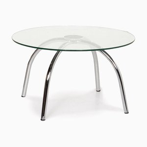 Round Vostra Glass Coffee Table by Walter Knoll