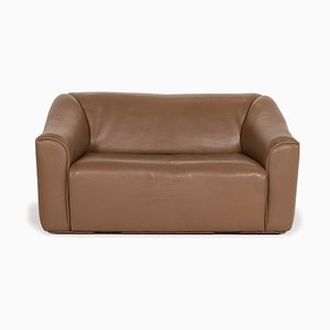DS 47 Brown Leather Sofa by de Sede