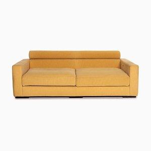 Yellow Fabric Sofa from Roche Bobois