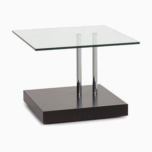 K 425 Black Glass Coffee Table by Ronald Schmitt