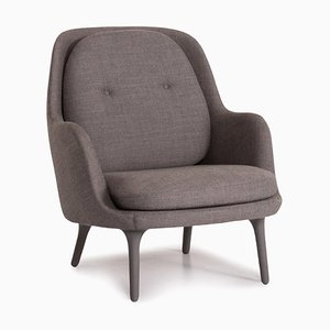 Gray Fri Armchair by Fritz Hansen