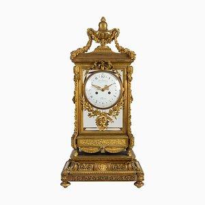 Reloj estilo Louis XVI grande, siglo XIX
