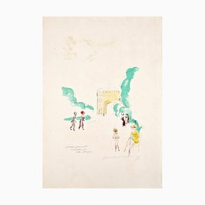 Kees Van Dongen, Price, Untitled, Lithograph, años 50