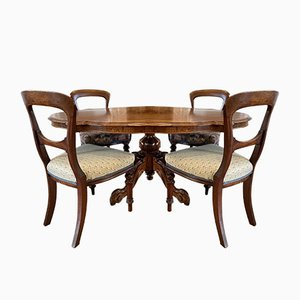 Rosewood Tilt Top Dining Table, 1860s