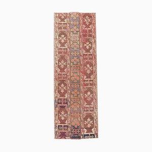 Türkischer Handgeknüpfter Vintage Flurgitter aus Wolle