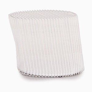 Weißer Zag Beistelltisch von Roche Bobois