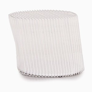 White Zag Side Table from Roche Bobois