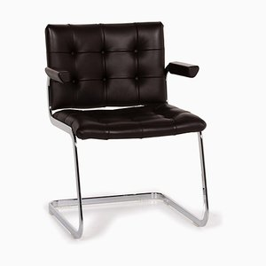 RH 305 Dark Brown Leather Armchair by de Sede