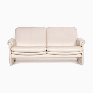 City Erpo Cream Leather Sofa