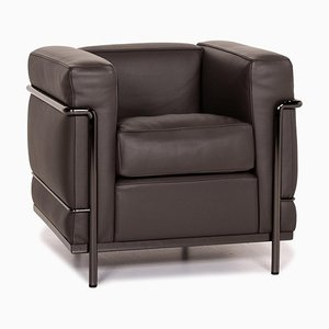 Cassina Le Corbusier LC 2 Leather Armchair