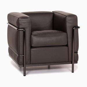 Cassina Le Corbusier LC 2 Leather Armchair
