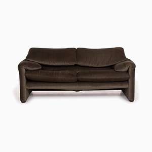 Maralunga Olive Green Sofa from Cassina