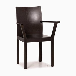 Bulthaup Nemus Stuhl aus dunkelbraunem Holz